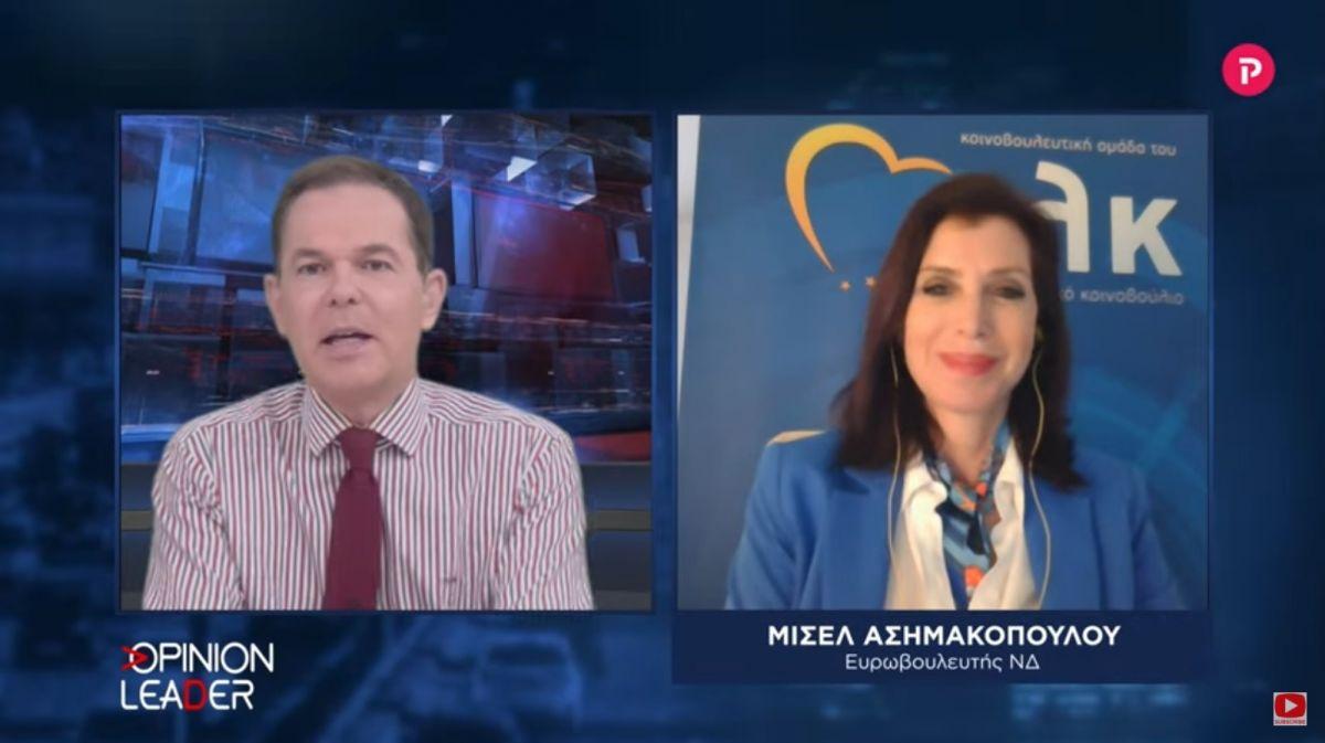 Άννα Μισέλ Ασημακοπούλου στο pagenews.gr: Ποια είναι τα πολιτικά παιχνίδια πίσω από τα εμβόλια