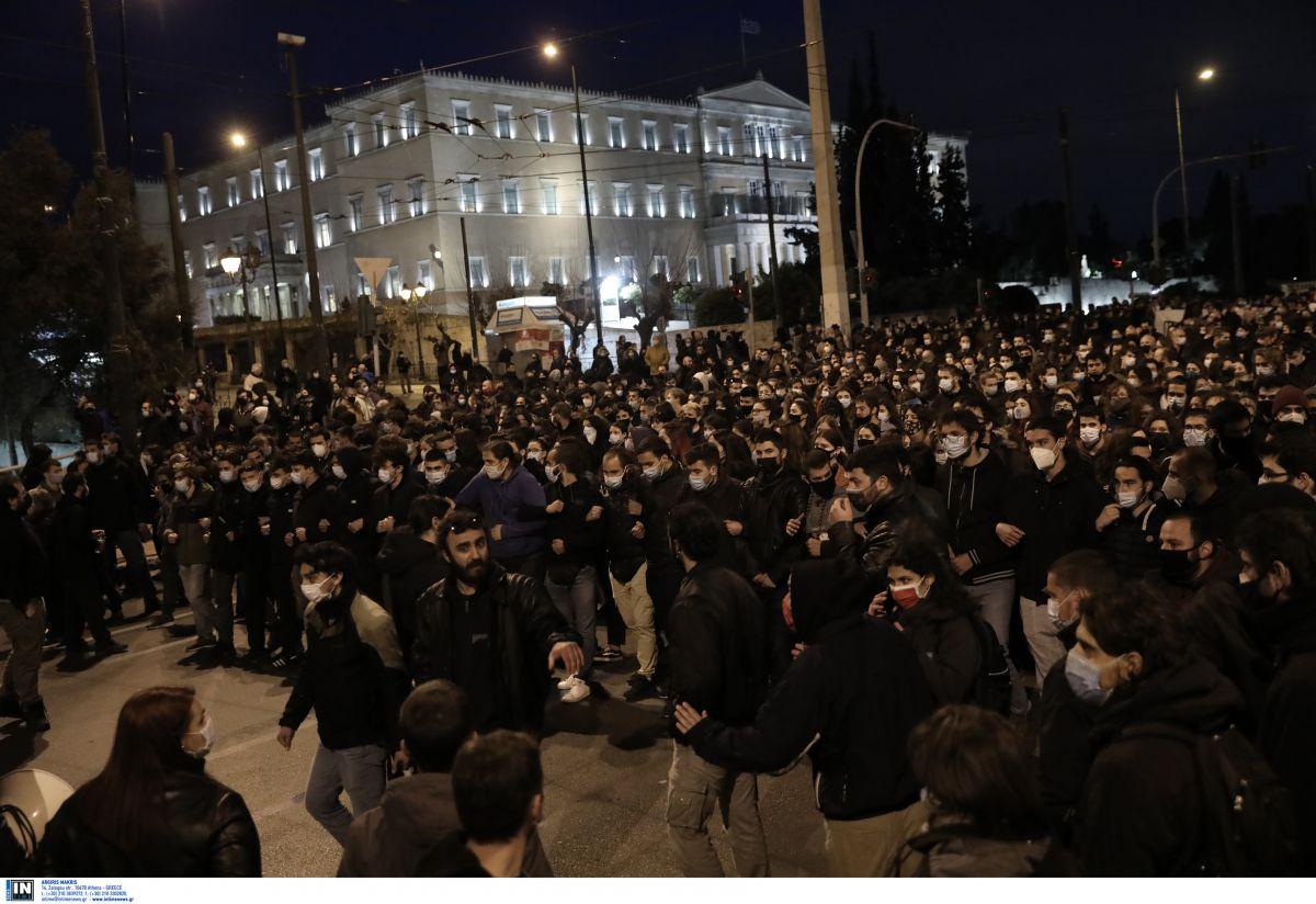 Αστυνομική βία: Νέα πορεία στην Αθήνα