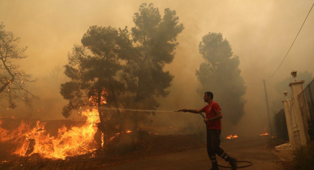 Φωτιά στη Μεγαλόπολη: Πώς αντιμετωπίζουμε μια πυρκαγιά
