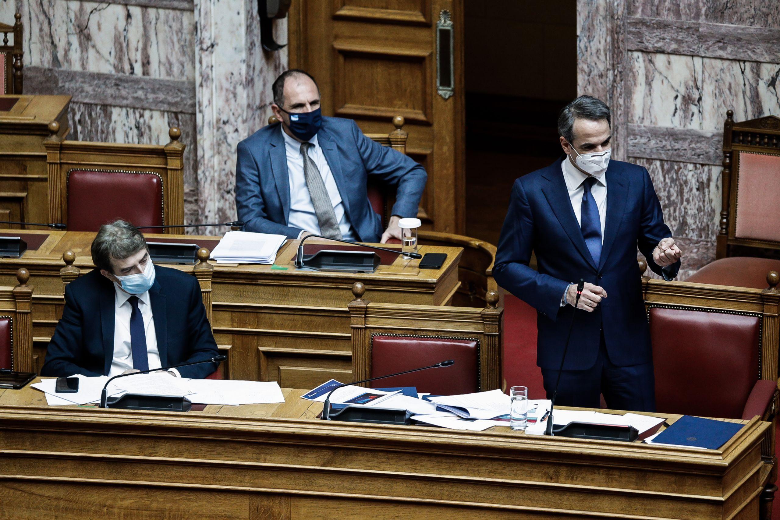 Βουλή Κυριάκος Μητσοτάκης