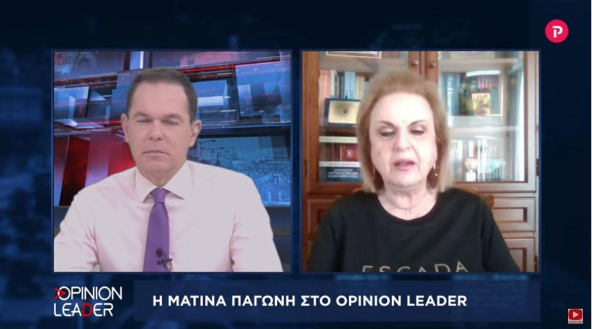 Ματίνα Παγώνη στο pagenews.gr: Πώς θα πάμε σε σταδιακό άνοιγμα