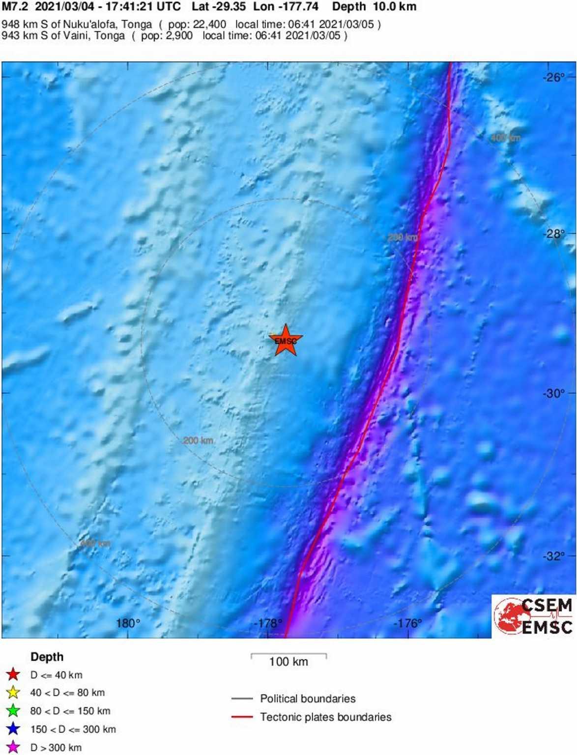 Σεισμός Νέα Ζηλανδία