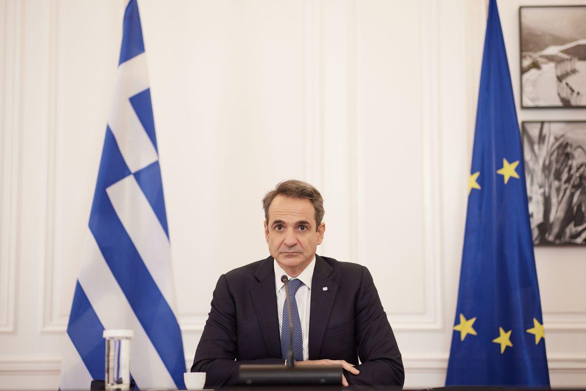 Σύνοδος Κορυφής ΕΕ: Ο Κυριάκος Μητσοτάκης παρακολουθεί τη συζήτηση