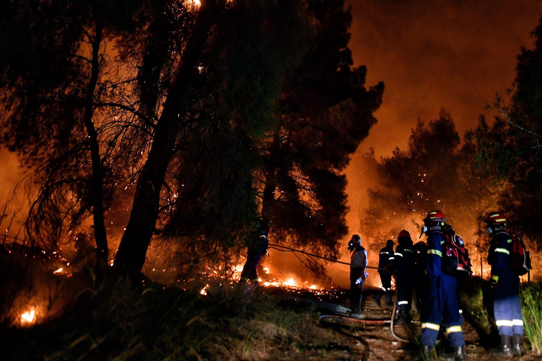 Φωτιά στα Γεράνεια Όρη