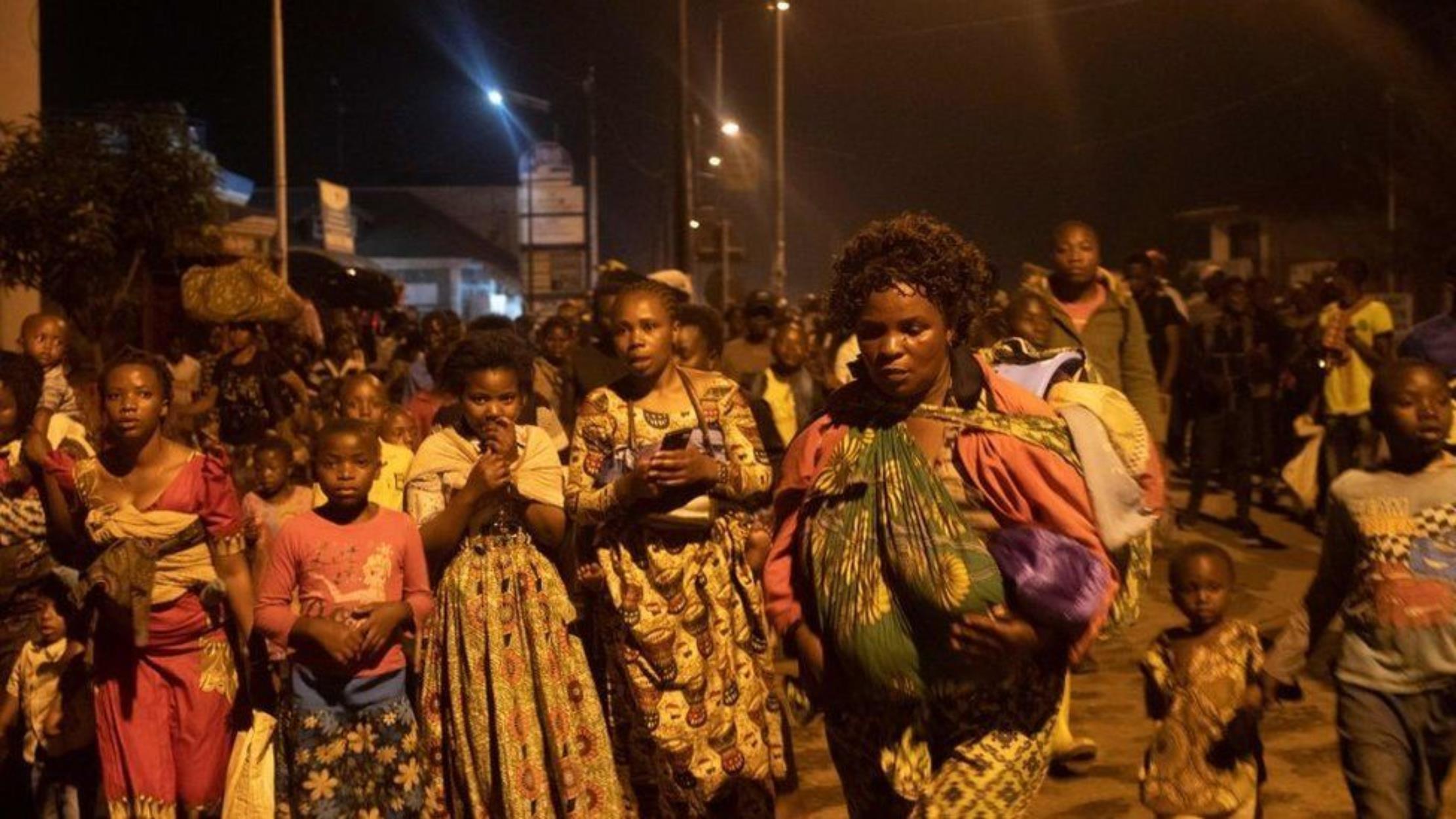 Κονγκό έκρηξη ηφαιστείου